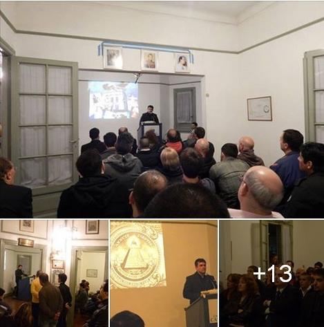 """Conferencia Prof. Coria en Casa Patria sobre """"Nuevo Orden Mundial"""""""