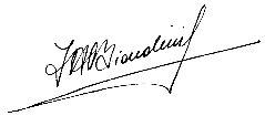Firma de Alejandro Biondini (Kalki)