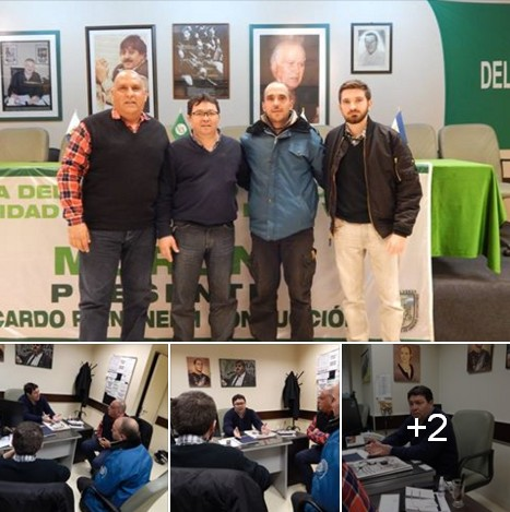 Representantes de Bandera Vecinal se reunieron con el Delegado General de SMATA Morón