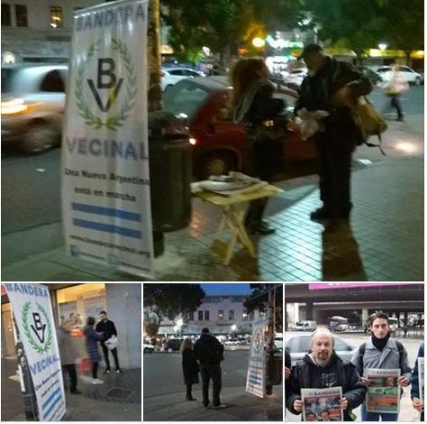 Continúa la propagación popular de Bandera (ver fotos)