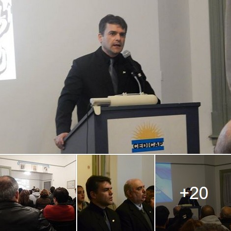 Bicentenario y Nacionalismo: El Prof. Darío Coria habló en Casa Patria