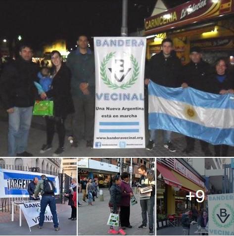 Mesas Nacionalistas en La Plata, Lanús, Florencio Varela, Boedo y Caballito